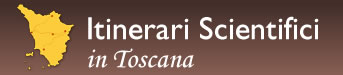 Logo: Itinerari Scientifici in Toscana