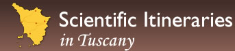 Logo: Scientific Itineraries in Tuscany
